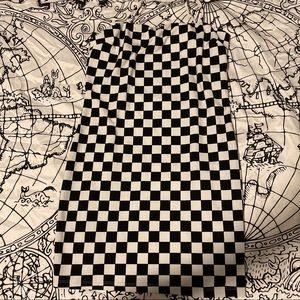 Fashion Nova checkered dress